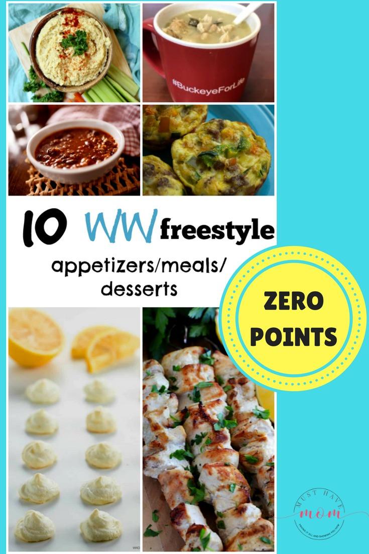 Weight Watchers Desserts Freestyle  10 Zero Points Weight Watchers Freestyle Recipes