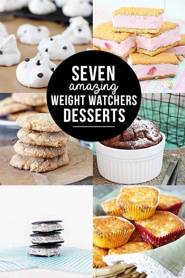 Weight Watchers Desserts Freestyle  20 Easy Weight Watchers Recipes With 7 Points Less