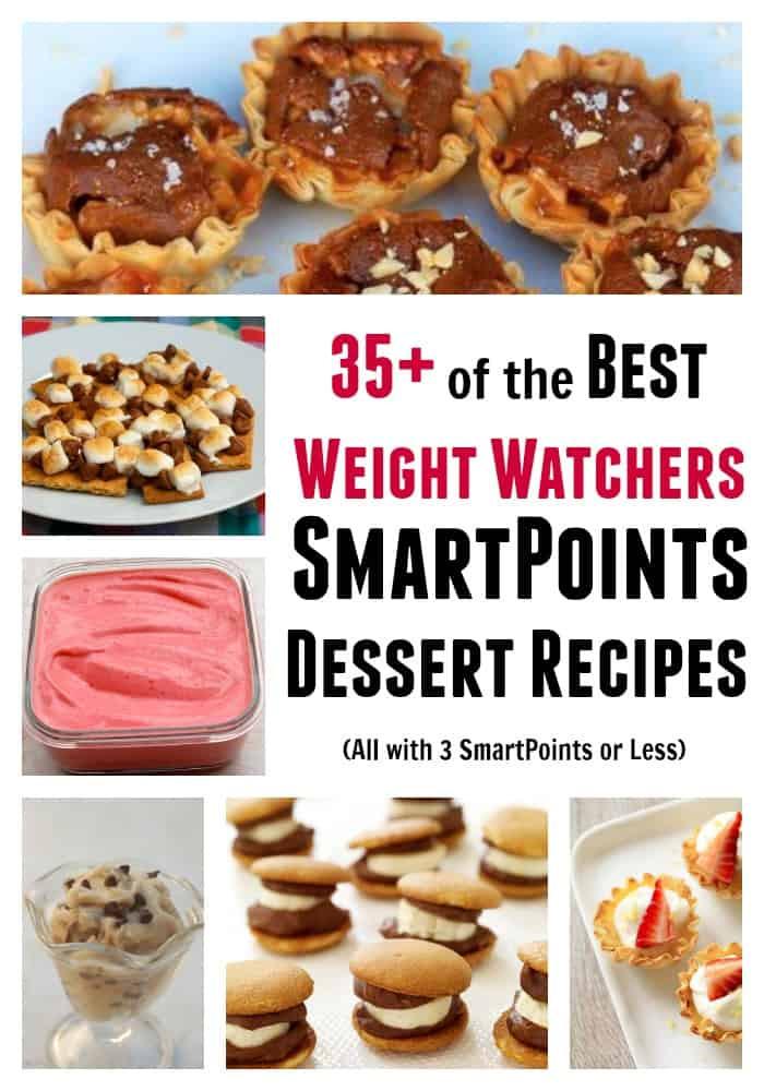 Weight Watchers Desserts Freestyle  35 Weight Watchers Dessert Recipes w 3 Freestyle