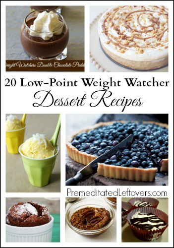 Weight Watchers Low Point Desserts  20 Weight Watchers Dessert Recipes Premeditated Leftovers