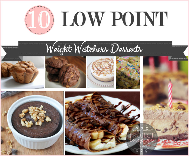 Weight Watchers Low Point Desserts  10 Low Point Weight Watchers Desserts The Girl Creative