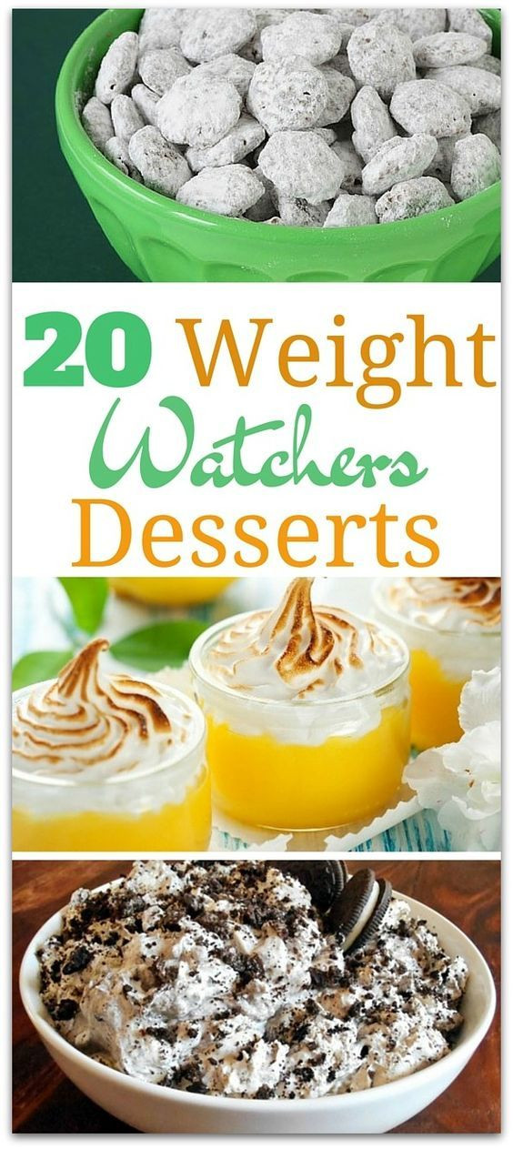 Weight Watchers Low Point Desserts  20 Delicious Weight Watchers Desserts