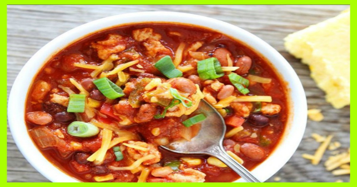 Weight Watchers Turkey Chili  Crock Pot Turkey Chili Smart Points 4 weight watchers