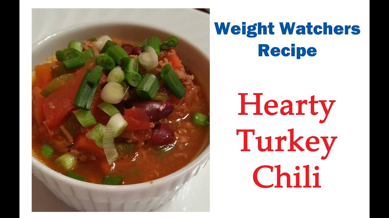 Weight Watchers Turkey Chili  weight watcher chili recipe with turkey