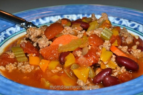 Weight Watchers Turkey Chili  Weight Watchers Turkey Bean and Ve able Chili Recipe