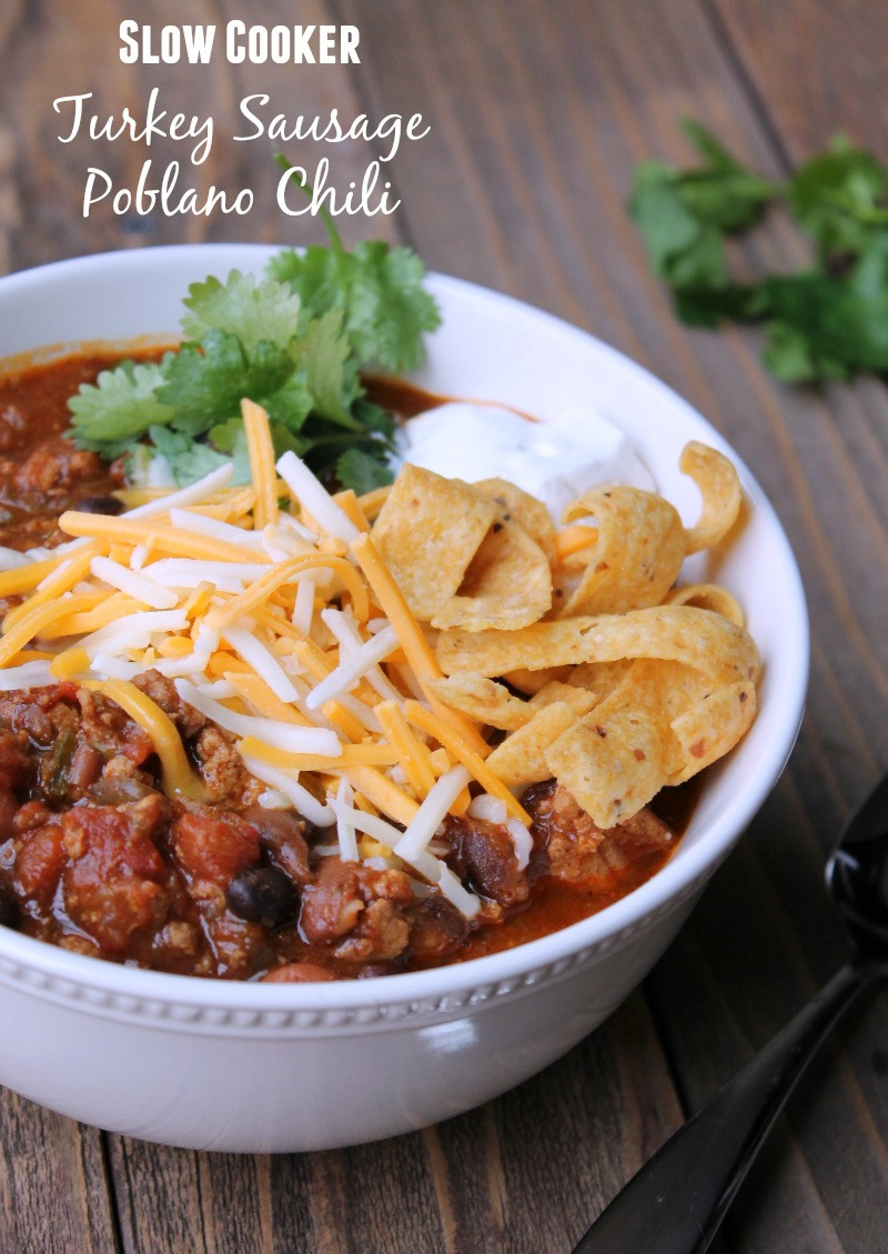 Weight Watchers Turkey Chili  slow cooker turkey chili weight watchers