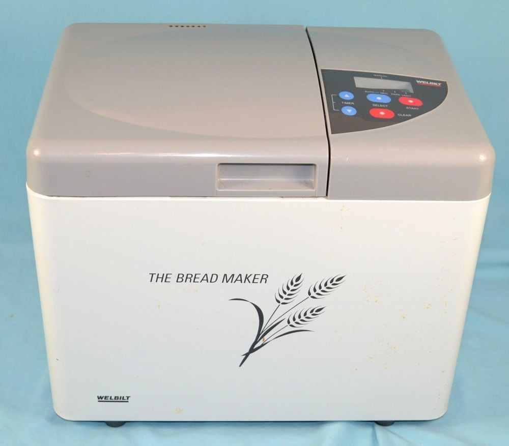 Welbilt Bread Machine  Welbilt Bread Maker Making Machine Model ABM350 1 lb Loaf