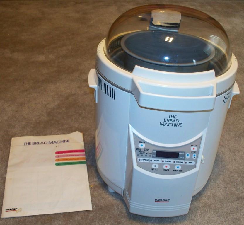 Welbilt Bread Machine  Welbilt ABM 100 3 Bread Machine w Manual CLEAN UNITS