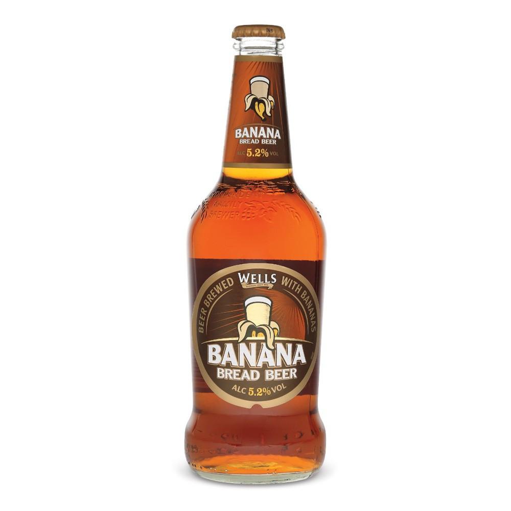 Wells Banana Bread Beer  Wells Banana Bread Ale 8x 500ml DrinkSupermarket