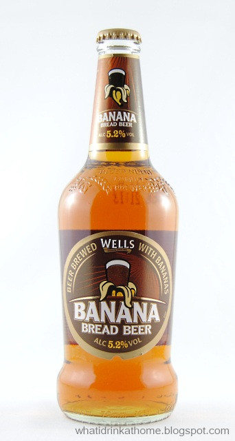 Wells Banana Bread Beer  What I Drink At Home Wells Banana Bread Beer Review