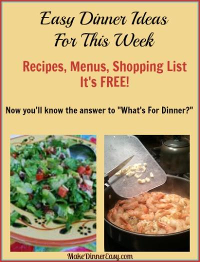 What Can I Make For Dinner Tonight  Easy Family Dinner Ideas