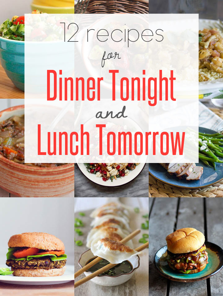 What Can I Make For Dinner Tonight  Easy Leftover Recipes for Dinner Tonight Lunch Tomorrow