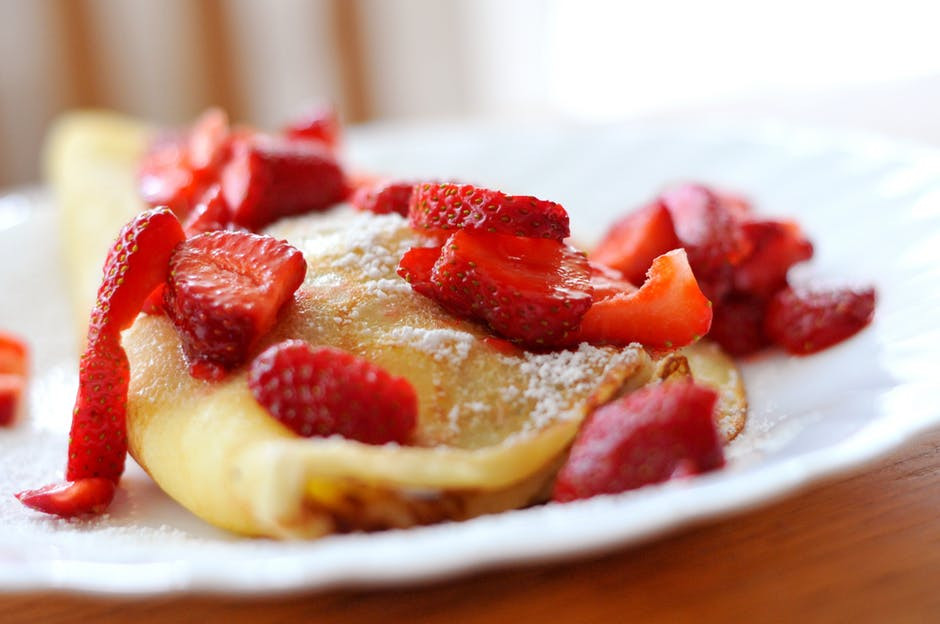 What Dessert Can You Make With Pancake Mix  Strawberry Crepes Using Pancake Batter – My Honeys Place