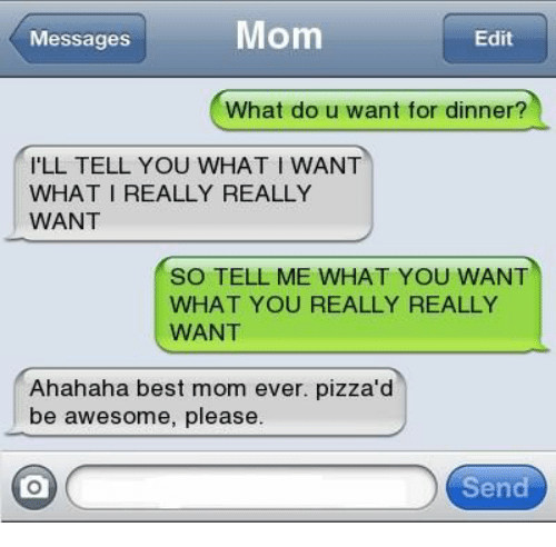 What Do I Want For Dinner  25 Best Memes About Best Mom Ever