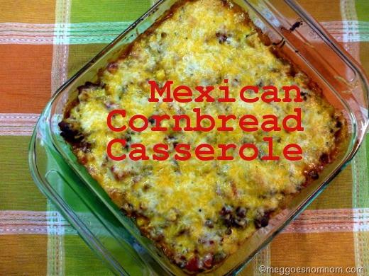 What Goes With Cornbread  Mexican Cornbread Casserole