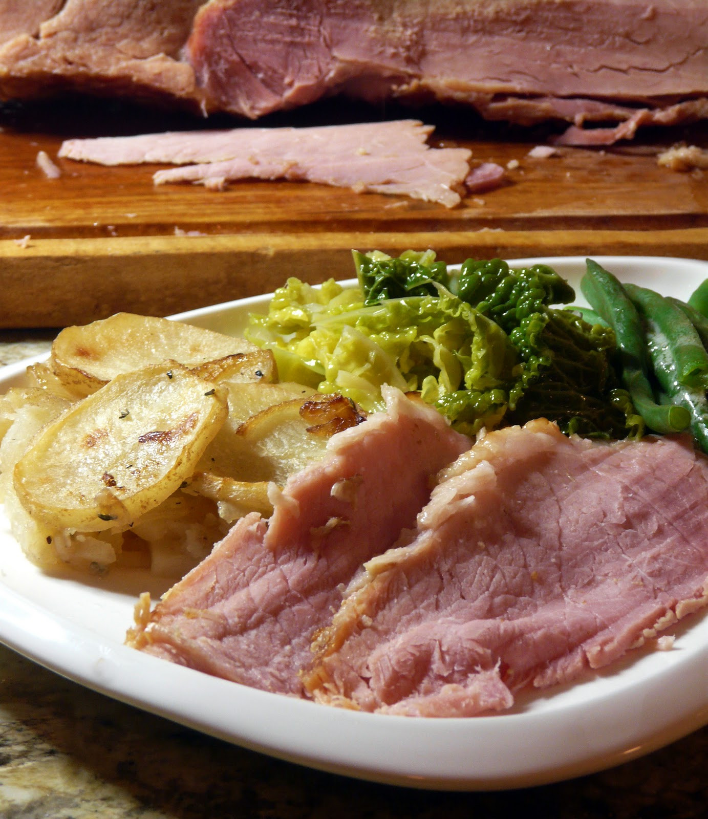 What Goes With Ham Dinner  Thibeault s Table Ham