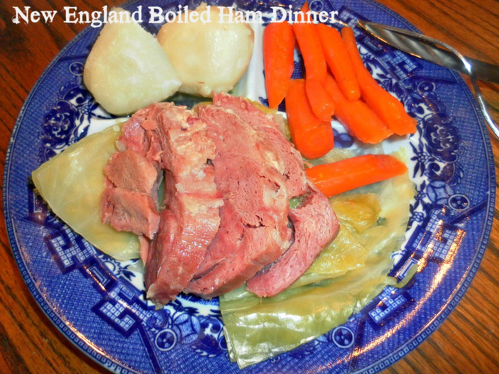 What Goes With Ham Dinner  Cooking A Bud New England Boiled Ham Dinner
