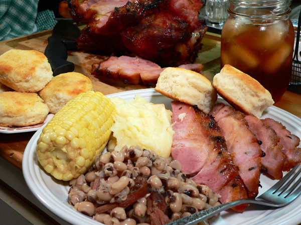 What Goes With Ham Dinner  Baked Picnic Ham Recipe Taste of Southern
