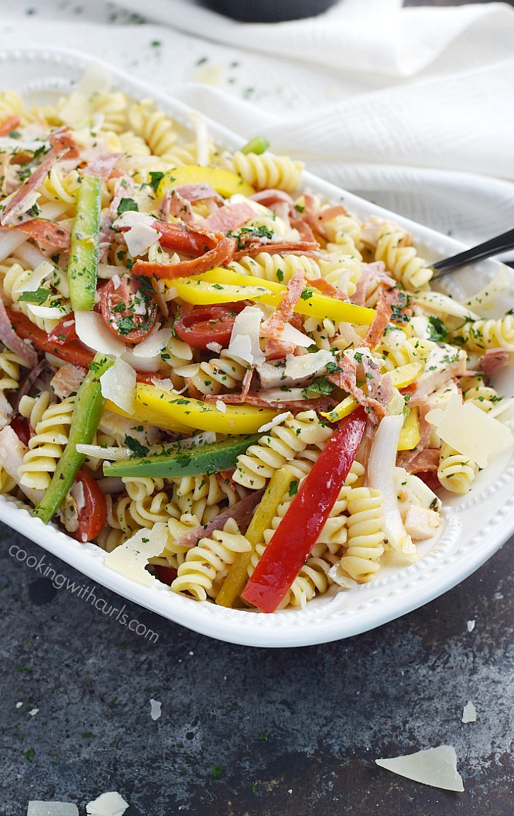 What Is Antipasto Salad  Antipasto Salad Cooking With Curls