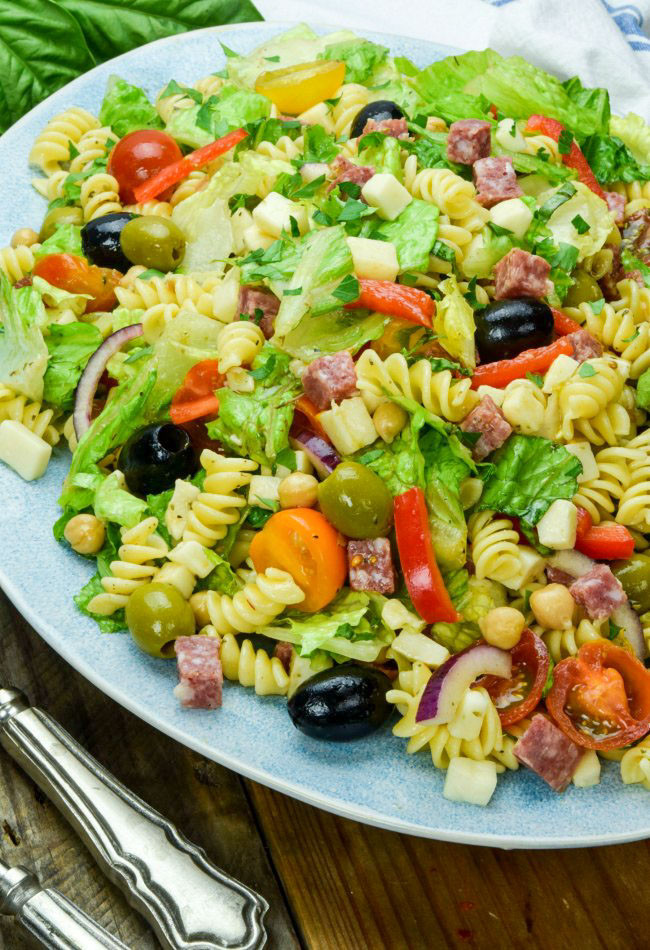 What Is Antipasto Salad  Classic Italian Antipasto Salad With An Easy Homemade