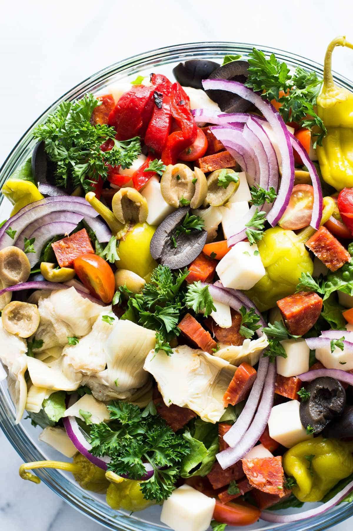 What Is Antipasto Salad  Antipasto Salad with Red Wine Vinaigrette