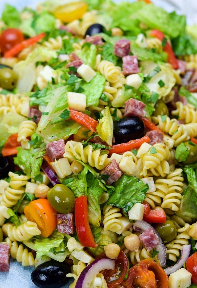 What Is Antipasto Salad  antipasto salad definition