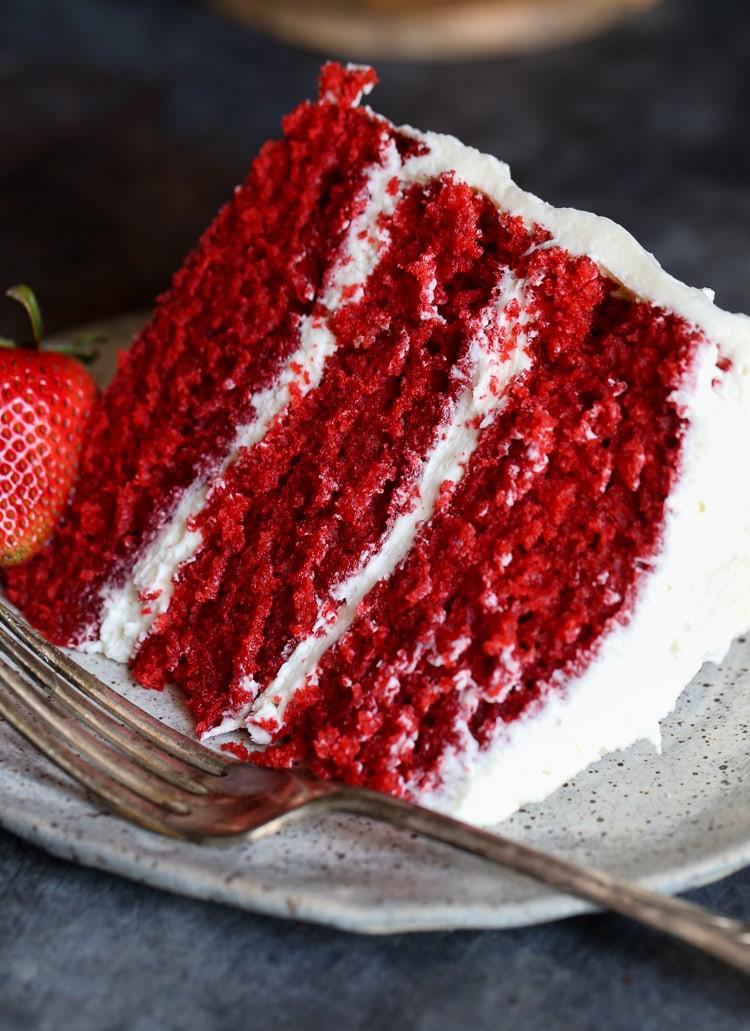 What Is Red Velvet Cake  The BEST Red Velvet Cake EVER