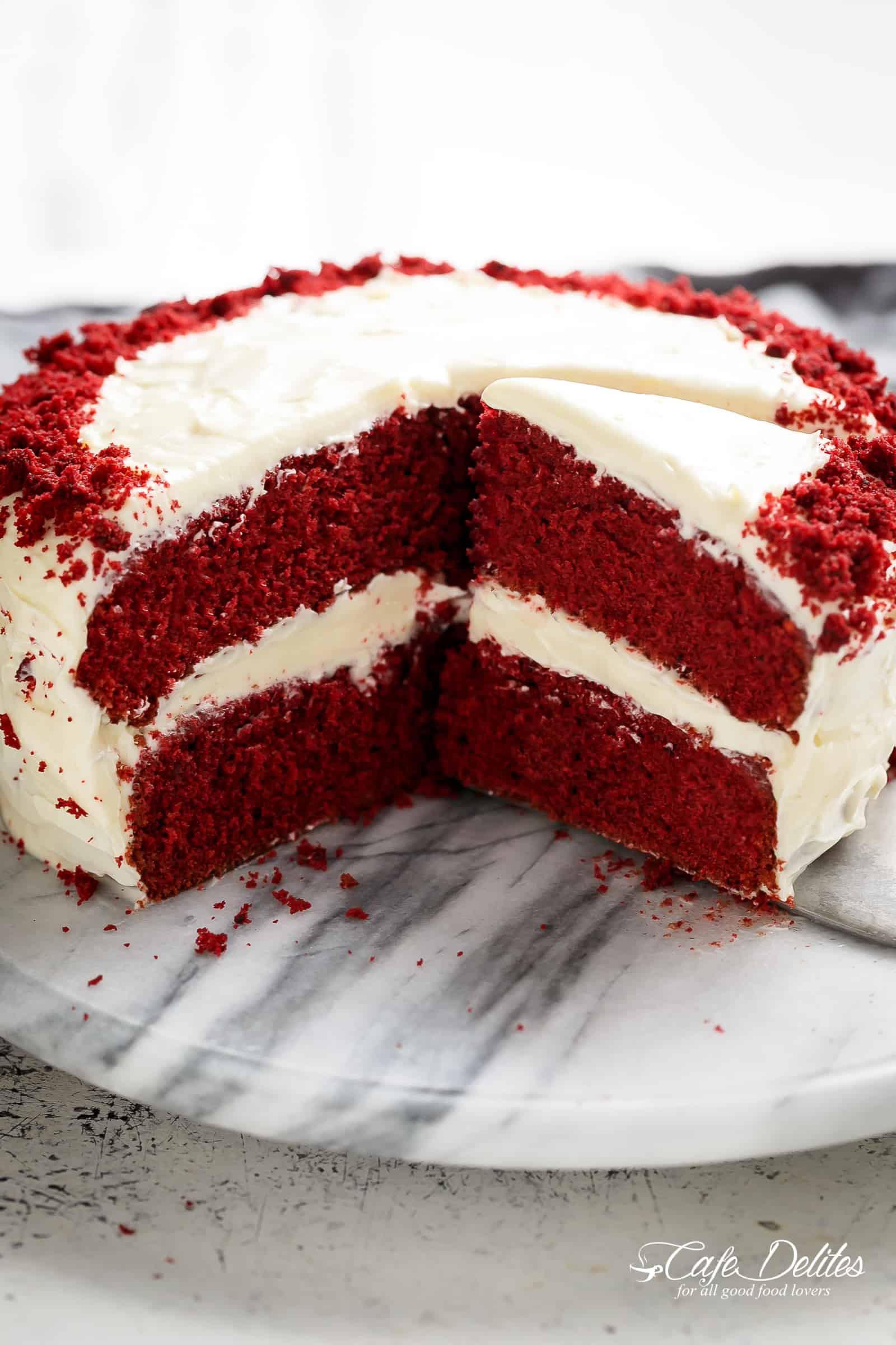 What Is Red Velvet Cake  Best Red Velvet Cake Cafe Delites