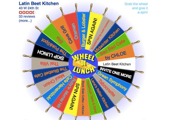 What Should I Have For Dinner Wheel  What Should We Eat Dilemma Hack Deserves Nobel Prize