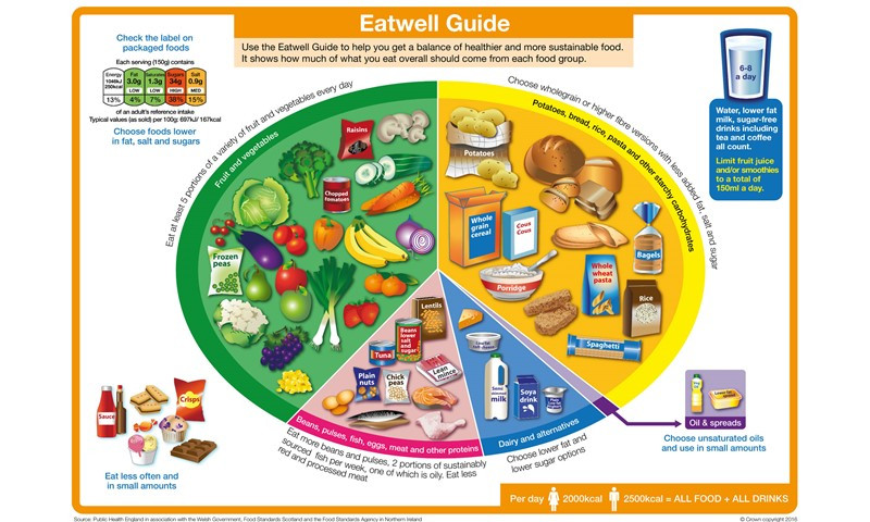 What Should I Have For Dinner Wheel  Eatwell Guide Food and nutrition