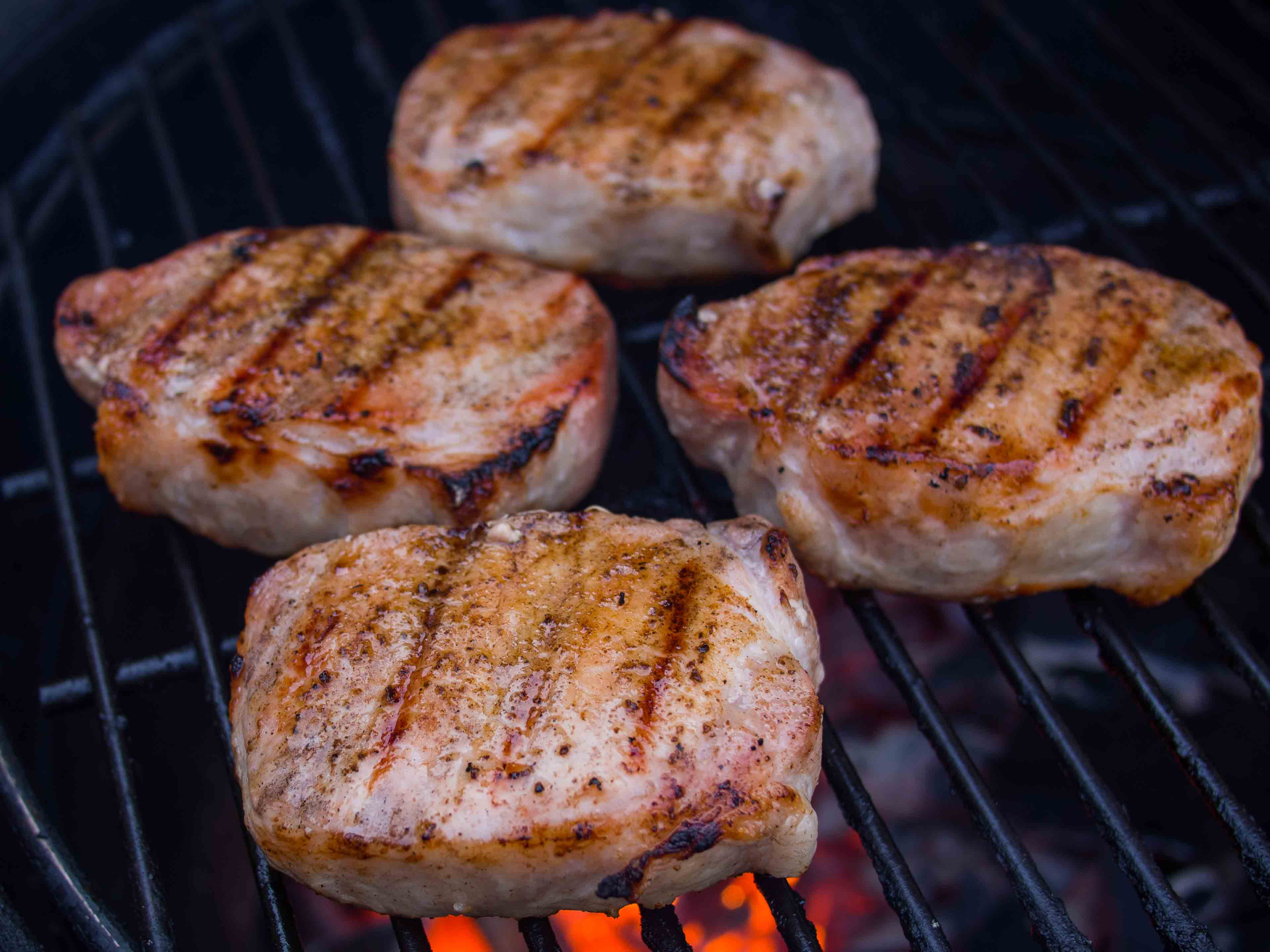 What Temp To Cook Pork Chops  Pork Chop Internal Temperature Alton Brown