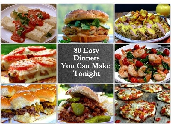 What To Cook For Dinner Tonight  17 Best images about Quick and Easy Dinner Ideas on