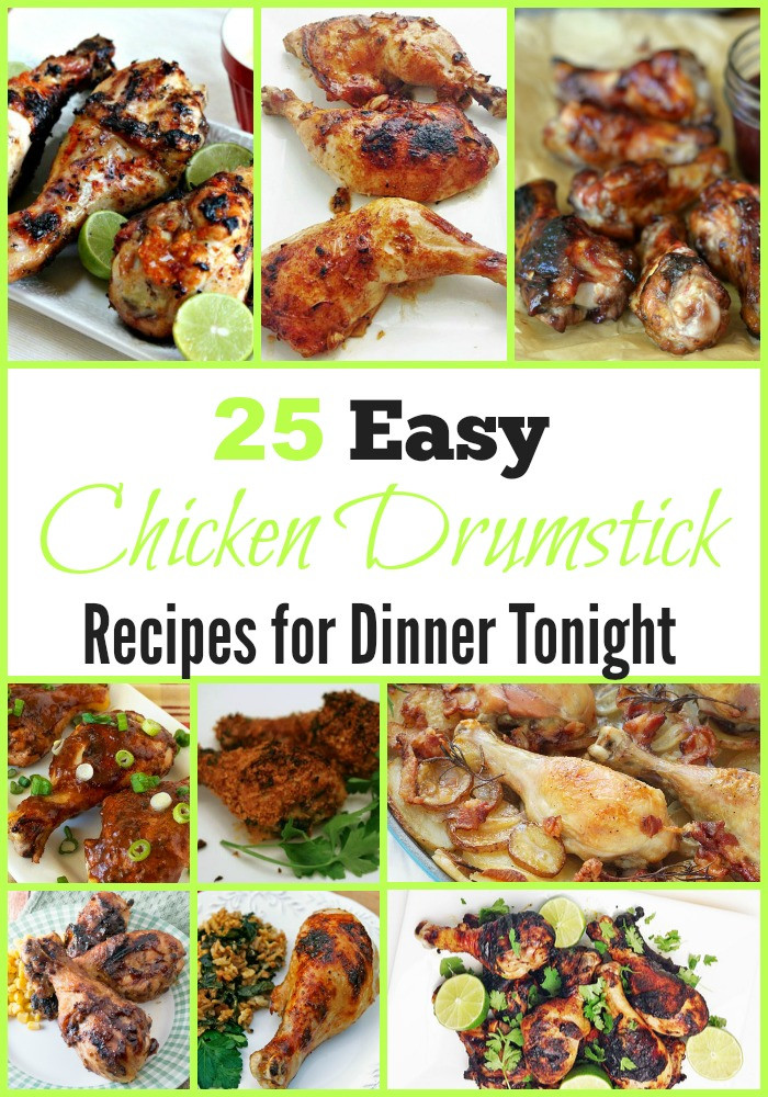 What To Cook For Dinner Tonight  25 Easy Chicken Drumstick Recipes for Dinner Tonight
