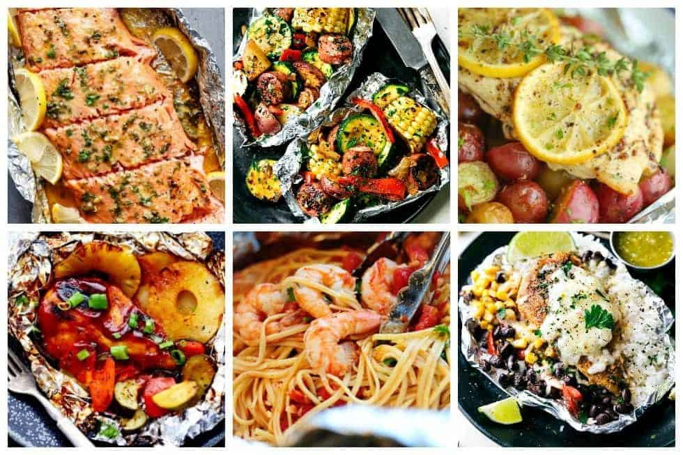 What To Cook For Dinner Tonight  17 Oven Baked Foil Packet Recipes To Make For Dinner