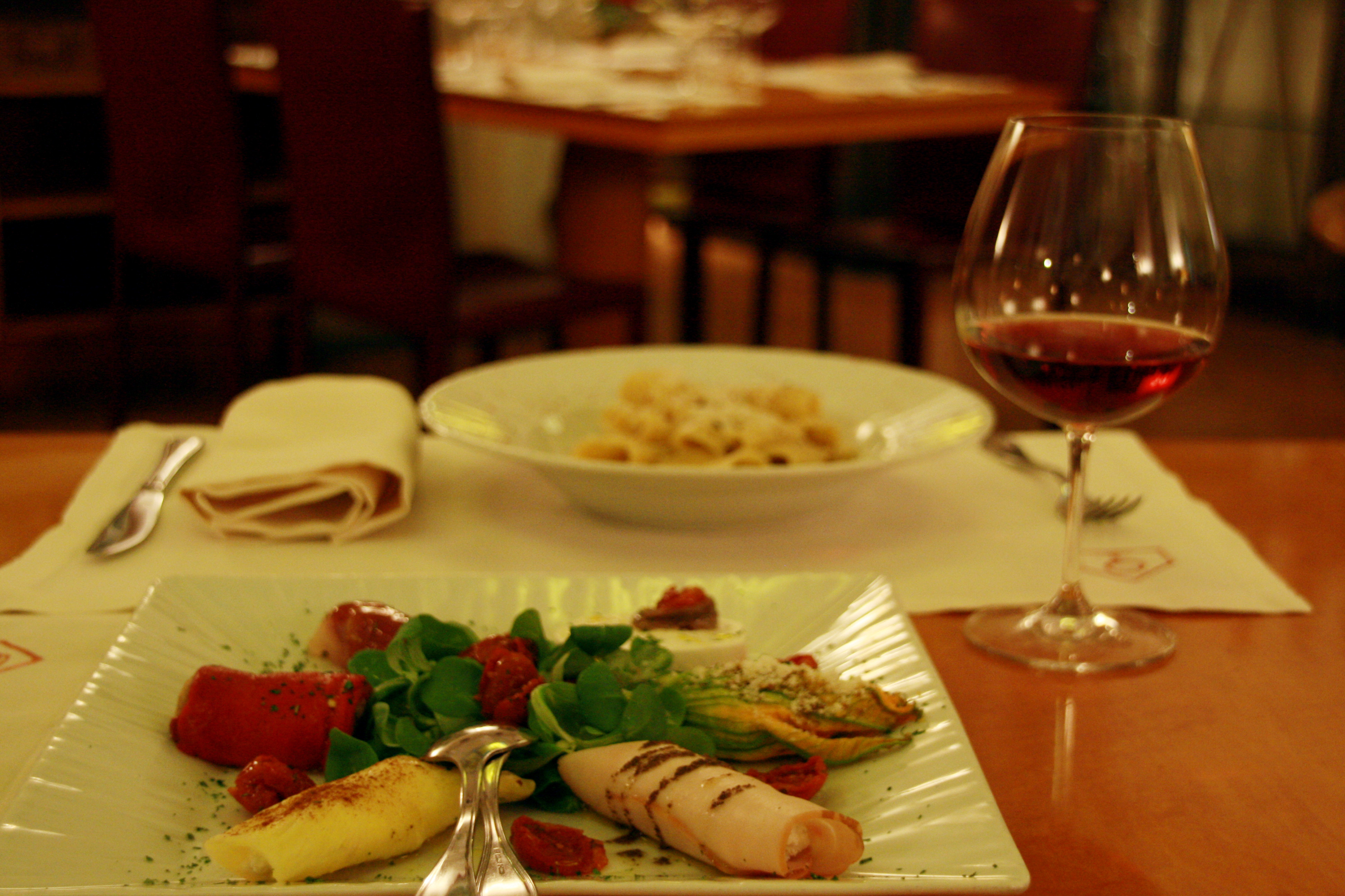 What To Do For Dinner  Romantic gourmet dinner in Rome gourmetalyGourmetaly