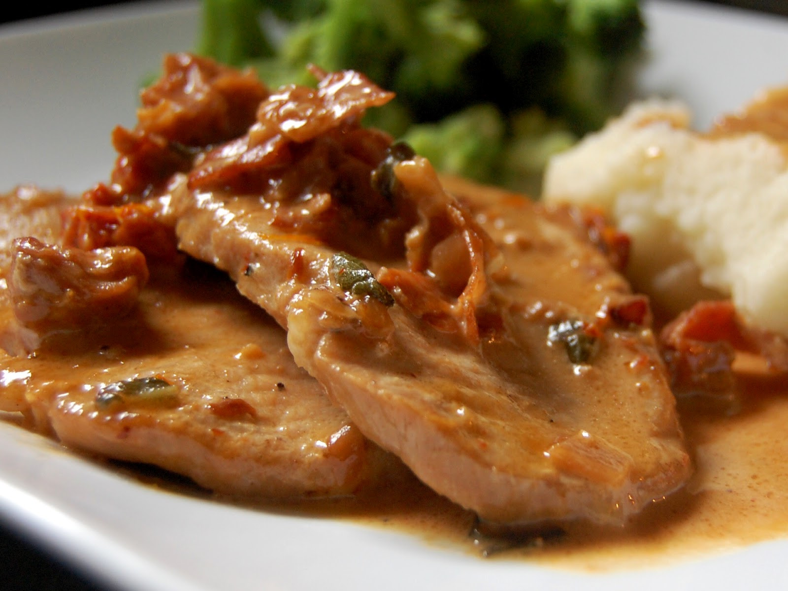 What To Do With Pork Chops  Cassie Craves Pork Loin Chops with Prosciutto Cream Sauce
