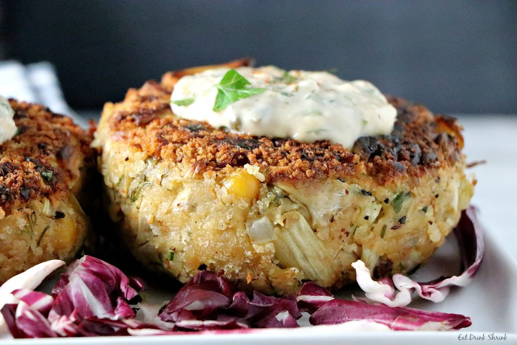 What To Eat With Crab Cakes  Vegan Crab Cakes Eat Drink Shrink
