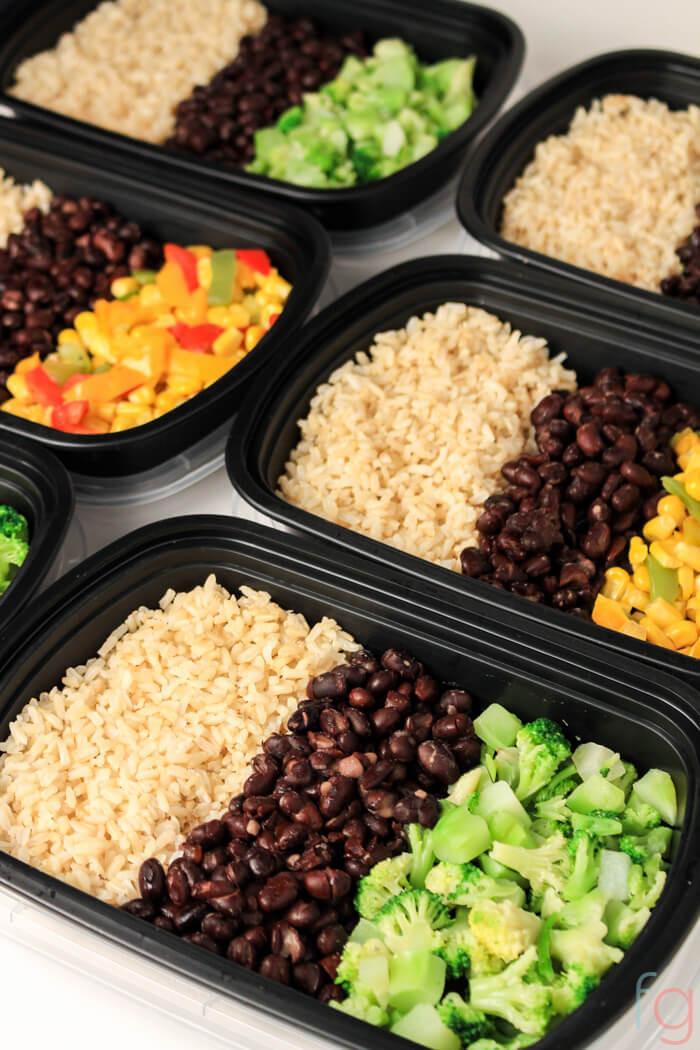 What To Make For Dinner Vegetarian  Easy Ve arian Meal Prep 30 Minute Vegan Meal Prep