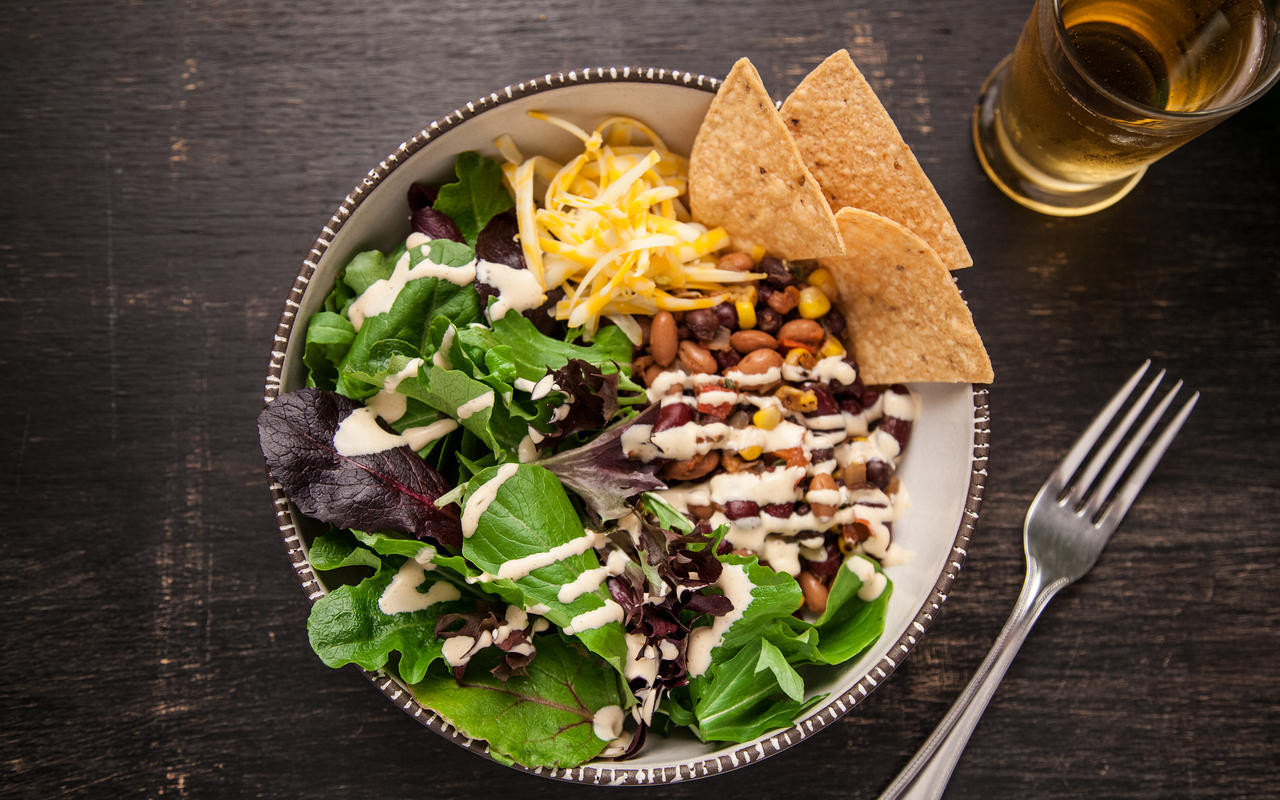 What To Make For Dinner Vegetarian  Ve arian Taco Salad 30 Minutes or Less Recipes