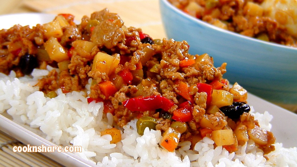 What To Make With Ground Pork  Ground Pork in Tomato Sauce