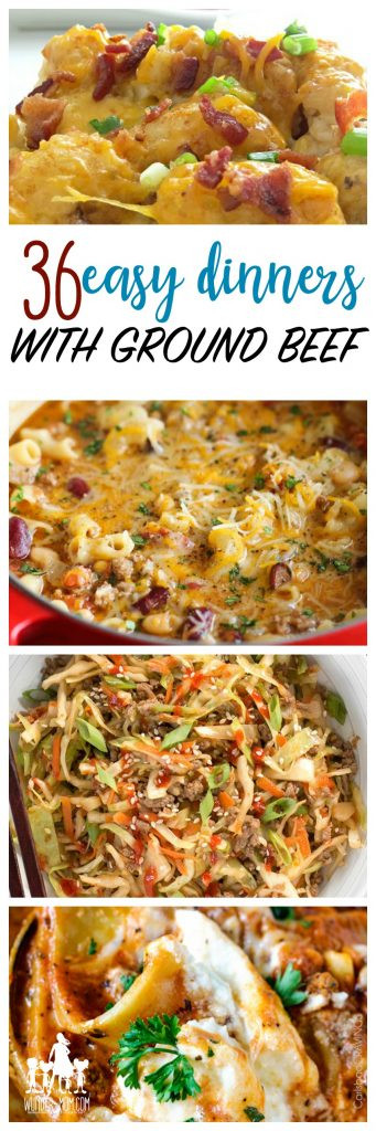 What To Make With Ground Pork  Cheap Recipes 36 Things to Make with Ground Beef
