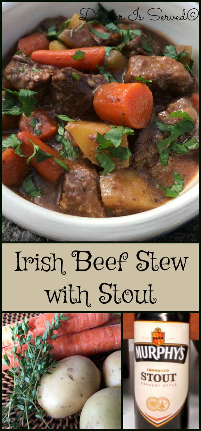 What To Serve With Beef Stew  Irish Beef Stew with Stout