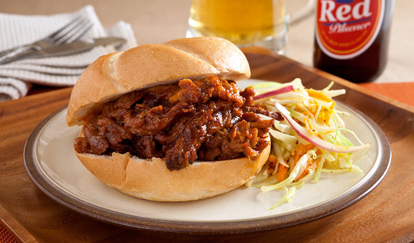 What To Serve With Pulled Pork Sandwiches  Recipe Hearty Pulled Pork Sandwiches CBC Life