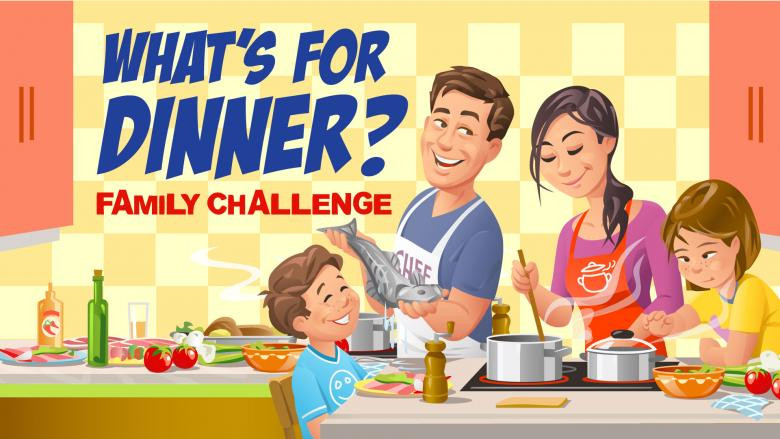What'S For Dinner Recipes  What s for Dinner Family challenge INSTANT DOWNLOAD