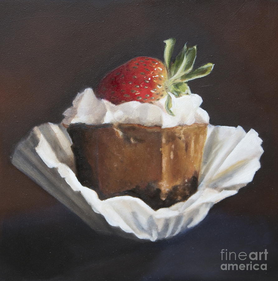 Whats For Dessert  Whats For Dessert Painting by Margit Sampogna