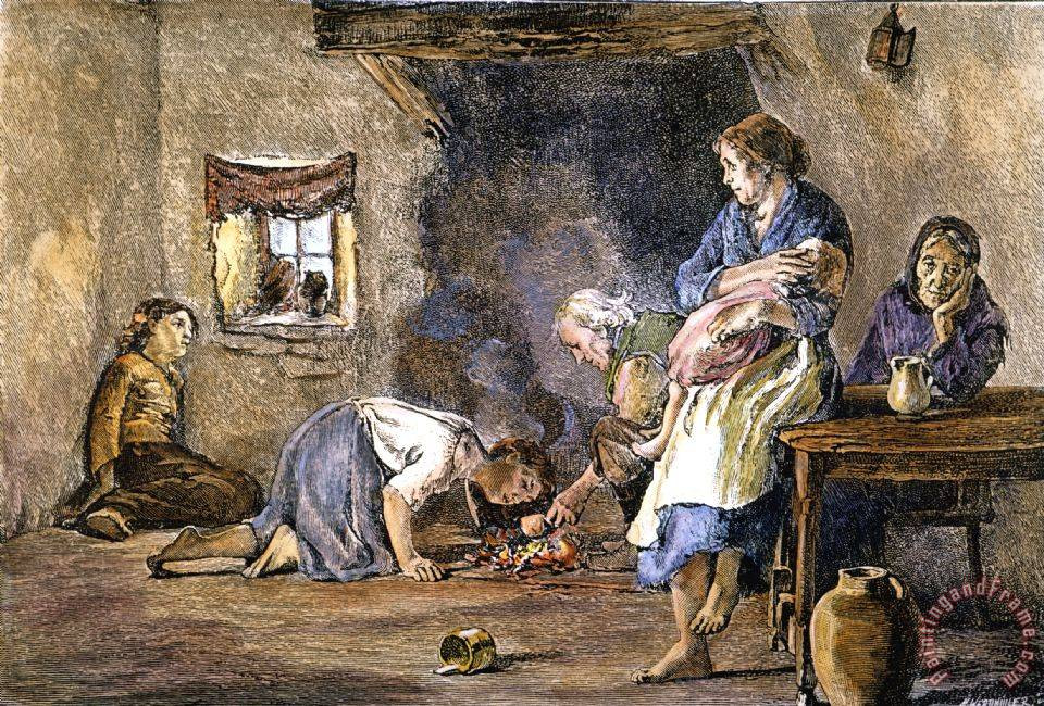 When Was The Potato Famine  Pin Others Paintings 3278 Cool Beautiful