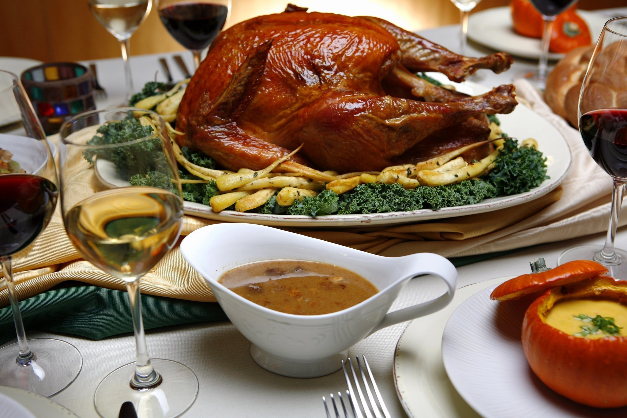 Where To Order Thanksgiving Dinner  To go and dine in options in L A for those saying no no