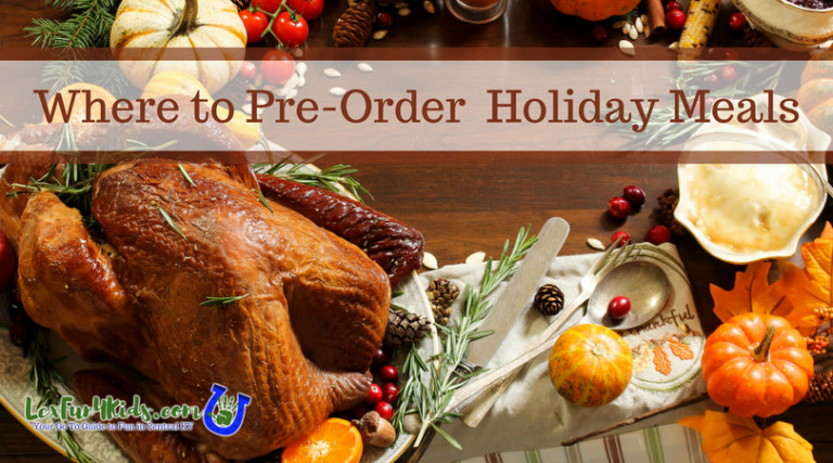 Where To Order Thanksgiving Dinner  Thanksgiving Dinner To Go Where to Order Your Holiday Meal