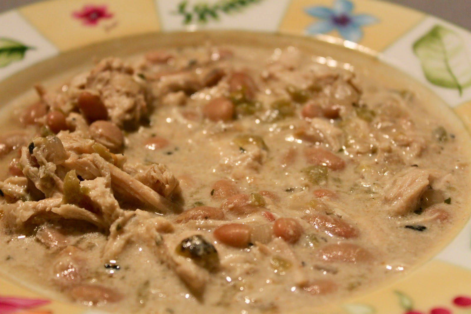 White Bean Chicken Chili Slow Cooker  my nutritious dish white bean chicken chili slow cooker