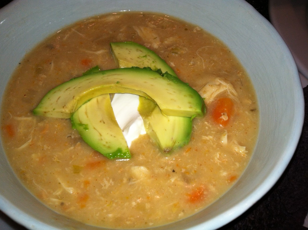 White Bean Chicken Chili Slow Cooker  SourdoughNative Slow Cooker White Bean Chicken Chili